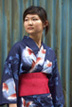 kimono headshot in tokyo japan