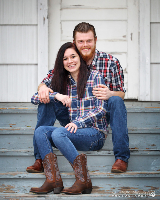 happy couple at katy heritage park in katy texas