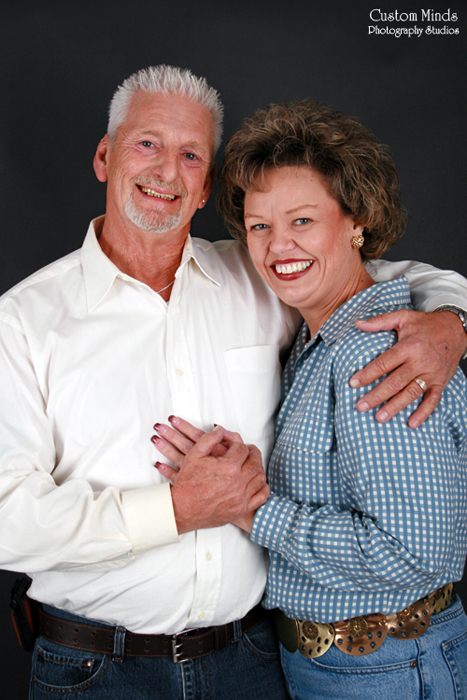 couple smiling in magnolia texas