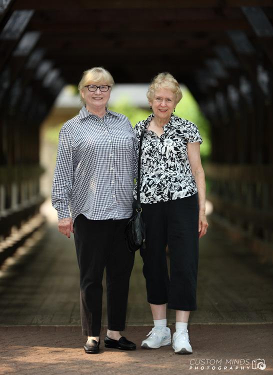 sisters at the bridge