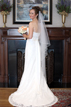 Bride at Chapelwood Methodist Church in Houston Texas