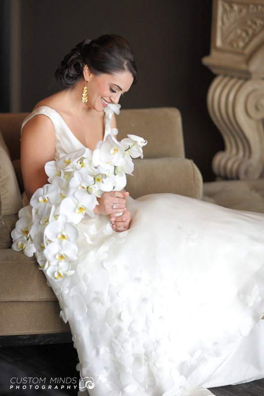 Bridal Portrait at Hotel Zaza at the museum district in Houston Texas