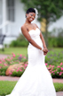Bridal portrait in Heritage Park, Katy Texas