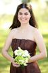 Bridesmaid posing in McAllen Texas on the wedding day