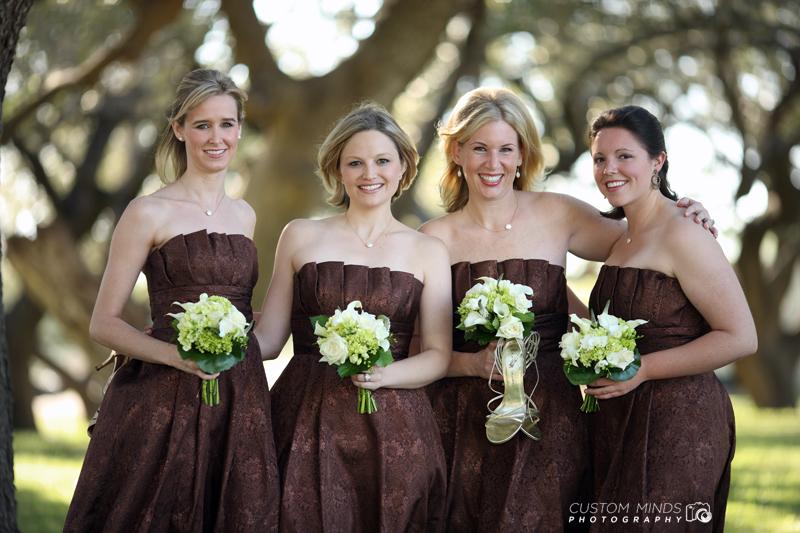 Bridesmaids in Alice Texas