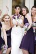 Bride and Bridesmaids in Austin Texas having fun