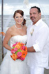 Bride and Groom at Surfside Beach