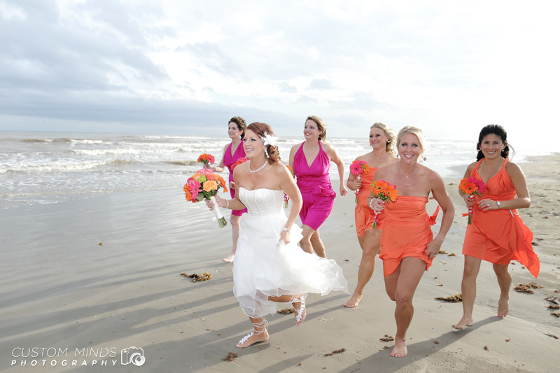 Late to the Beach Wedding