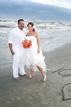 Beach wedding near Surfside