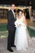 Happy Bride and Groom at hotel Zaza