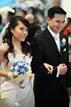 Downtown Richmond Texas wedding