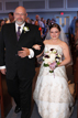Father walks Bride down the aisle in Spring Texas