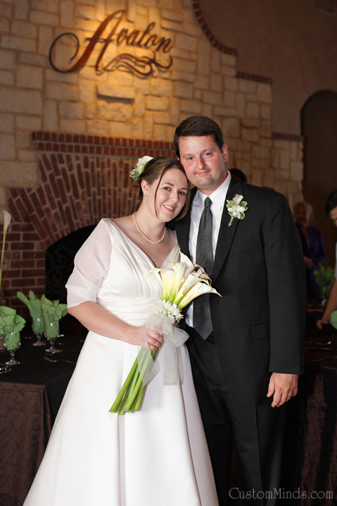 Wedding and reception at the Avalon in Sugarland