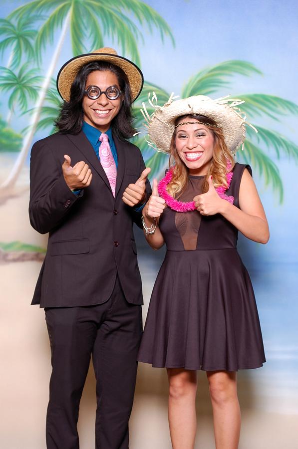 All smiles at the Houstonian Gala photo booth in Houston Texas