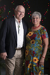Happy couple at the GMCOC Gala photo booth in Magnolia Texas