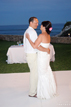 Beautiful outside nighttime wedding in Cabo San Lucas Mexico