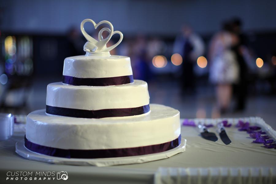 Houston Wedding Cake for a wedding in Spring Texas