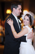 Bride and Groom having their first dance at Hotel Zaza in Houston Texas
