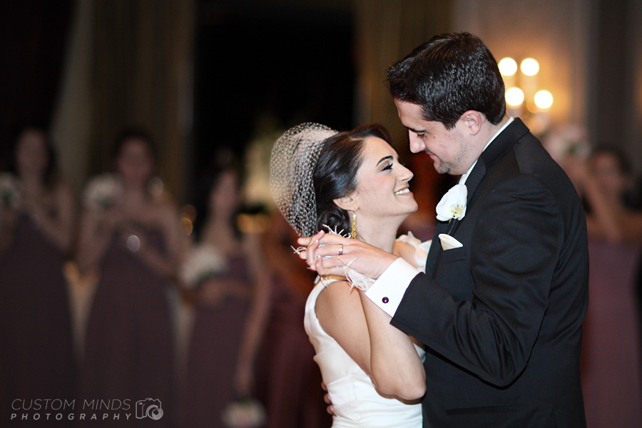 Bride and Groom celebrate their first dance at Hotel Zaza