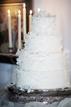 Cake at a wedding reception in Pasadena Texas