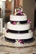 Cake at a wedding reception in Navasota Texas